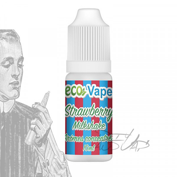 Strawberry Milkshake [Eco Vape] concentré