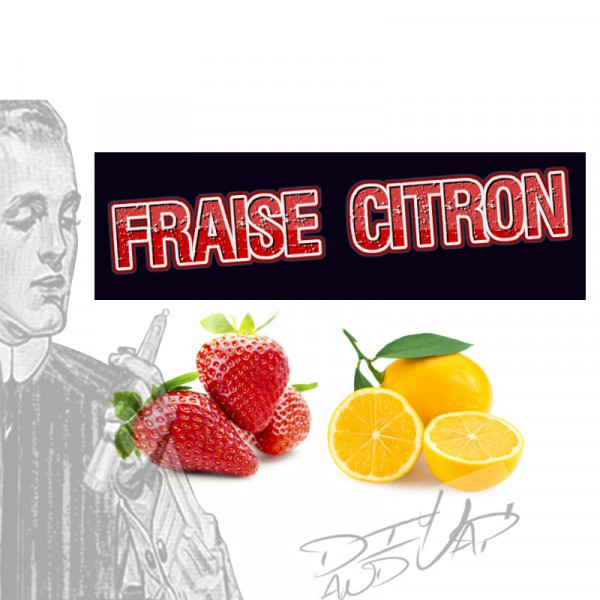 fraise citron [les symbiose diy and vap] Concentré