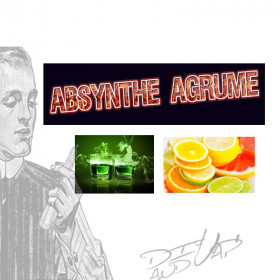 absynthe agrume [les symbiose diy and vap] Concentré