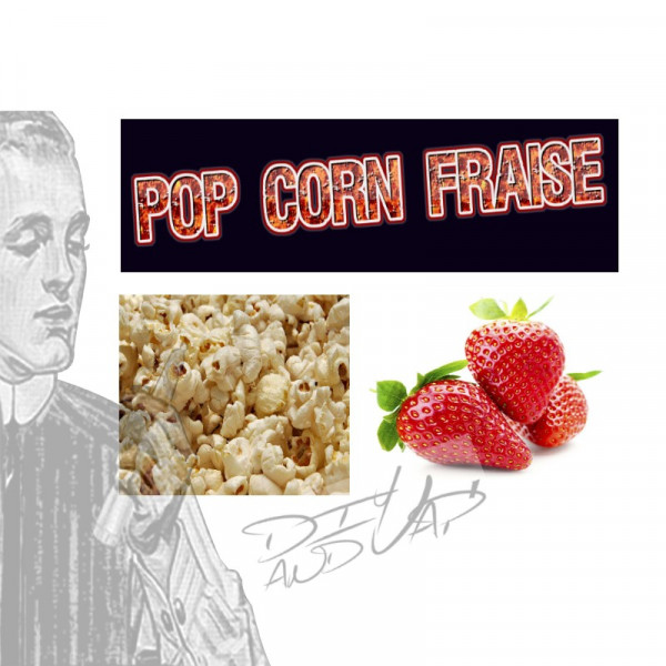 pop corn fraise  [les symbiose diy and vap] Concentré