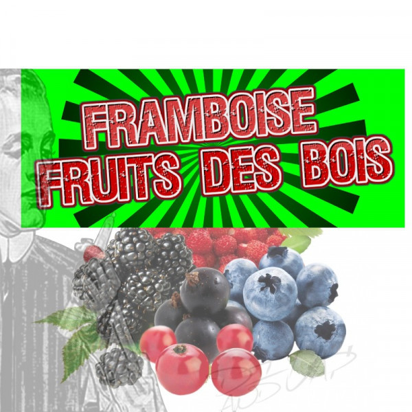 Framboise fruits des bois [les symbiose diy and vap] Concentré