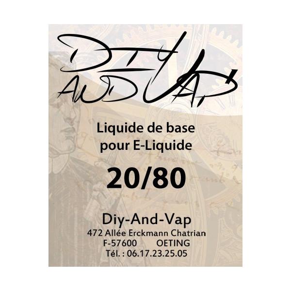 Base 20/80 PGVG [Diy-And-Vap]