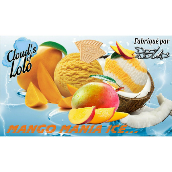 Mango Mania Ice [Cloud's of Lolo] Concentré