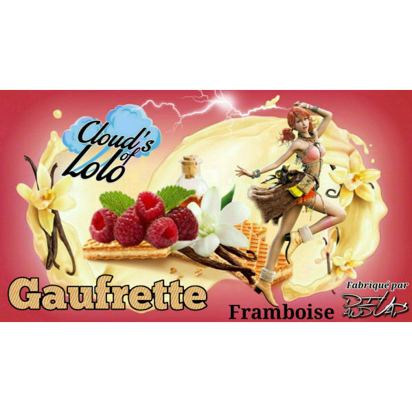 Gaufrette Framboise [Cloud's of Lolo] Concentré