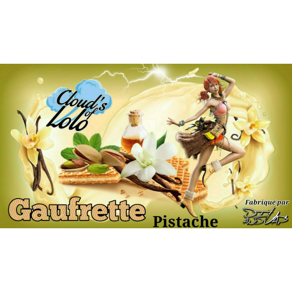 Gaufrette Pistache [Cloud's of Lolo] Concentré