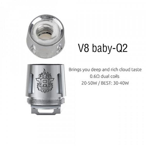 Résistance tfv8 baby Q2 [Smok]
