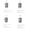 Résistances TFV8-T8 0.15Ω - Smoktech