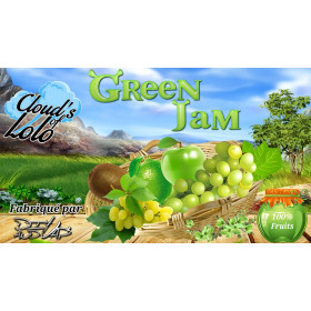 Green Jam [Cloud's of Lolo] E-Liquide