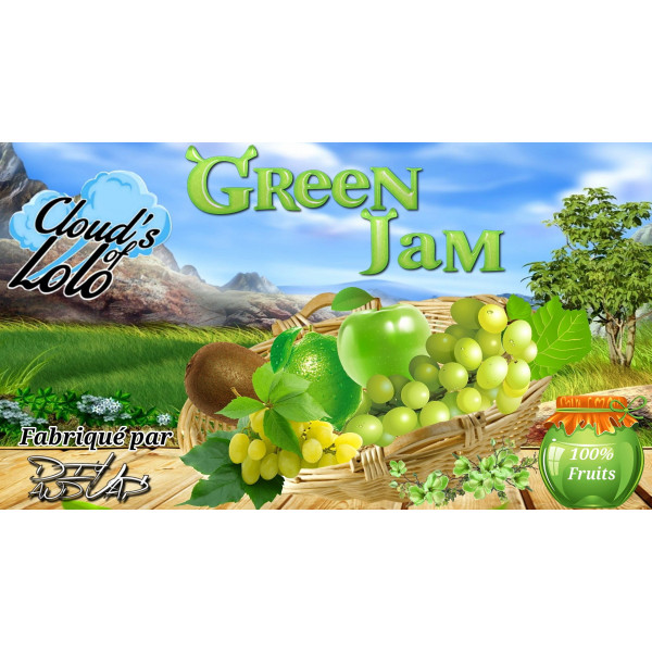 Green Jam [Cloud's of Lolo] E-Liquide
