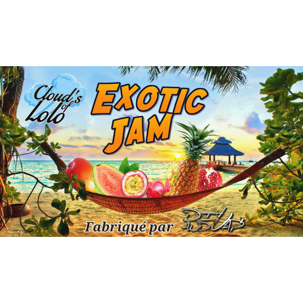 Exotic Jam [Cloud's of Lolo] E-Liquide