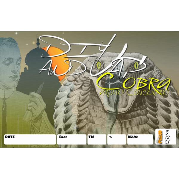 3 étiquettes Cobra