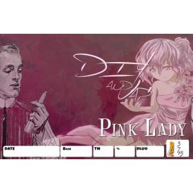 Etiquettes Pink Lady