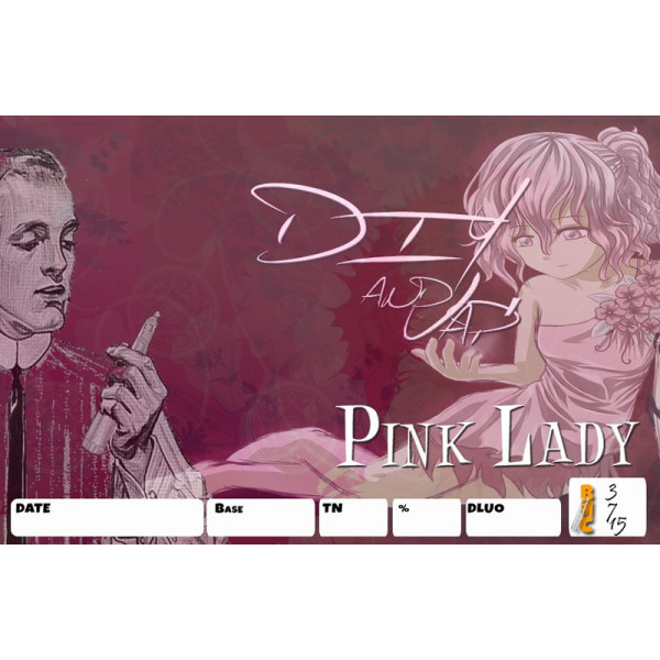 3 étiquettes Pink Lady