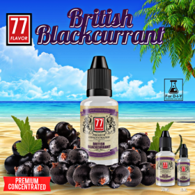 British Blackcurrant [77 Flavor] Concentré