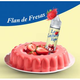 Flan de Fresas [La Lecheria Vape] Concentré 10ml