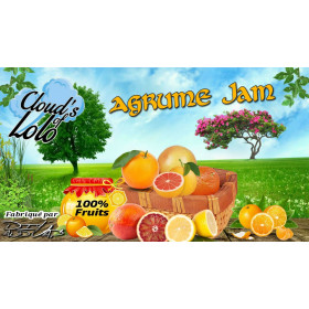 Agrume Jam [Cloud's of Lolo] E-Liquide