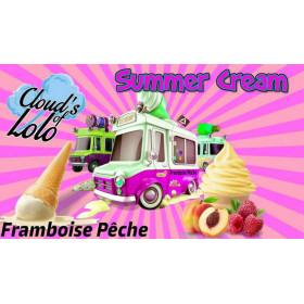 Summer Cream Framboise Peche [Cloud's of Lolo] Concentré