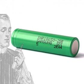 Accu Samsung INR 18650-25R 2500mAh sans boutton
