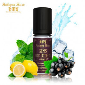 Gins Addiction [Halcyon Haze] Concentré 10ml