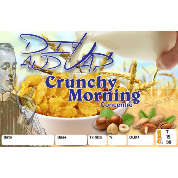 3 étiquettes Crunchy Morning