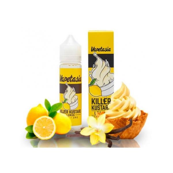 Killer Kustard Lemon [Vapetasia] E-Liquide