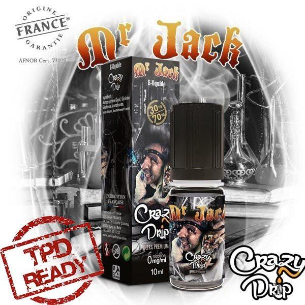 Mr Jack [Crazy Drip] 10ml E-Liquide