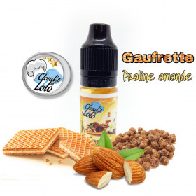 Gaufrette Praline Amande [Cloud's of Lolo] Concentré