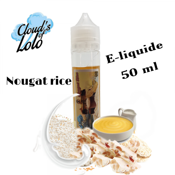 Nougat Rice [Cloud's of Lolo] E-Liquide