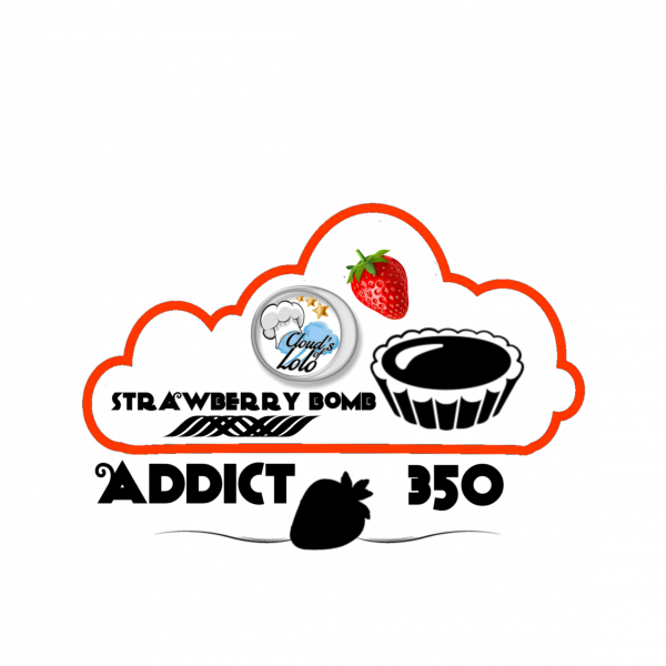 Strawberry Bomb [Addict By Cloud's of Lolo] E-Liquide 350 ML