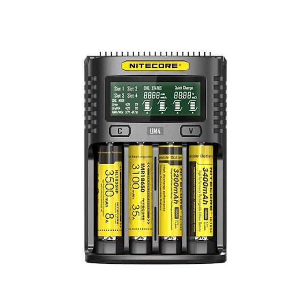 Chargeur UM4 Dual Slot 2A - Nitecore