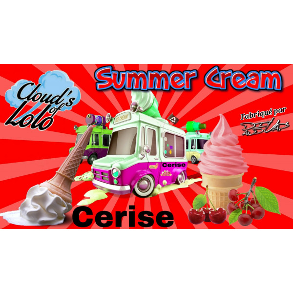 Summer Cream Cerise [Cloud's of Lolo] Concentré