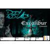 3 étiquettes Excalibur