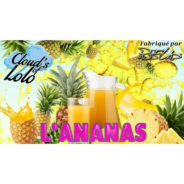 L'Ananas [Cloud's of Lolo] E-Liquide