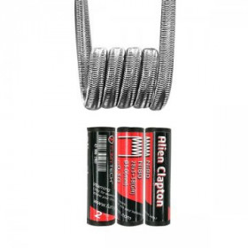 Alien Clapton Coil Twisted Messes Ni80 28*3+38GA 0.30Ω - Fumytech