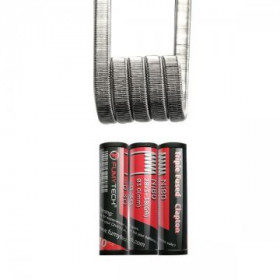 Triple Fused Clapton Ni80 28*3+38GA 0.30Ω (10pcs) - Fumytech
