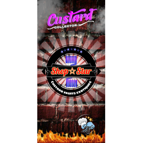 Shop Star [Custard by Cloud's of Lolo] E-Liquide