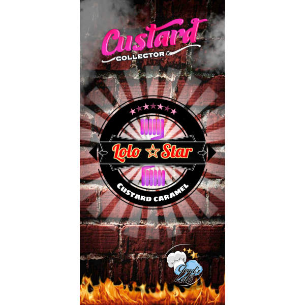 Lolo Star [Custard By Cloud's of Lolo] E-Liquide