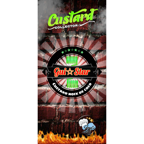 Gui Star [Custard By Cloud's of Lolo] E-Liquide