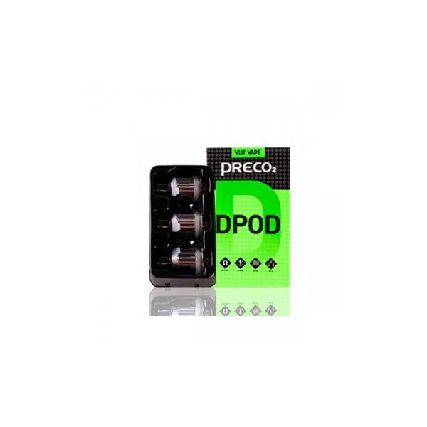 Preco 2 DTL Dpod 3.5ml (3pcs) - Vlit Vape