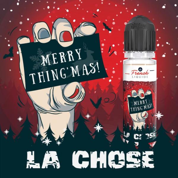 La Chose 50/50 0mg 50ml ÉDITION SPÉCIALE NOËL - Le French Liquide