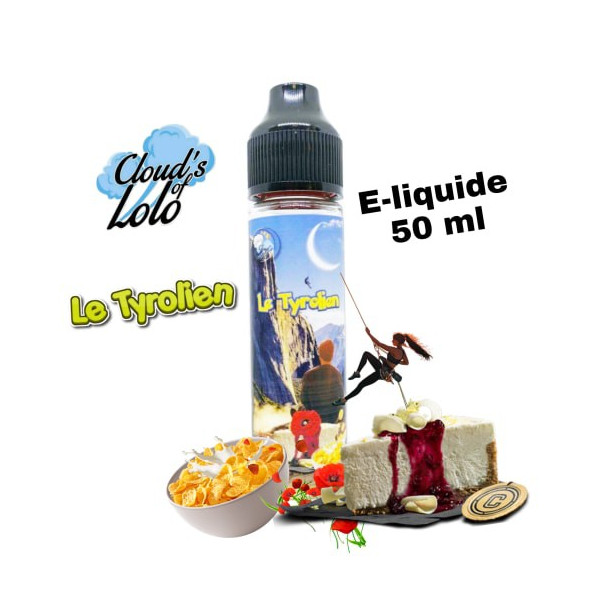 Tyrolien [Cloud's of Lolo] E-Liquide