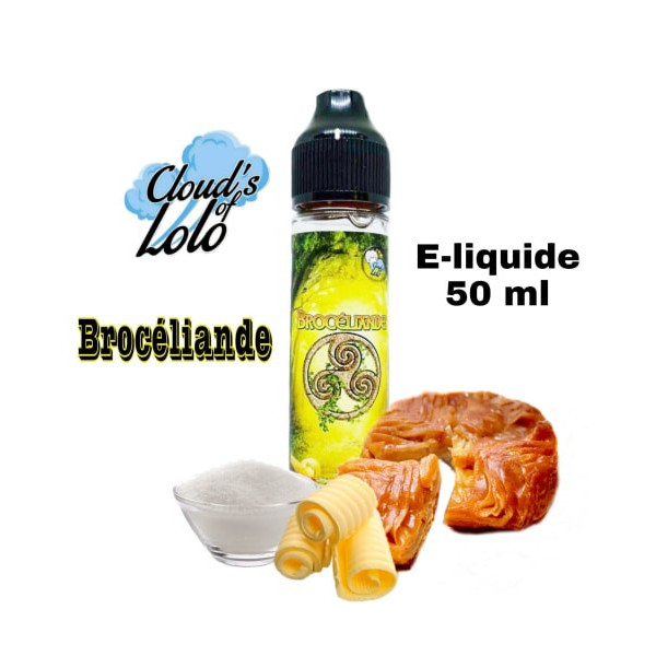 Brocéliande [Cloud's of Lolo] E-Liquide