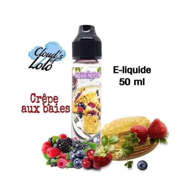 Crepe aux baies [Cloud's of Lolo] E-Liquide