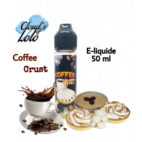Coffee Crust [Cloud's of Lolo] E-Liquide