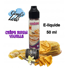 Crepe Rhum Vanille [Cloud's of Lolo] E-Liquide