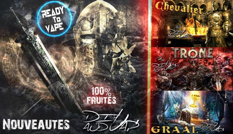 Les 3 nouveaux Pret à Vaper Diy and Vap sont disponible!