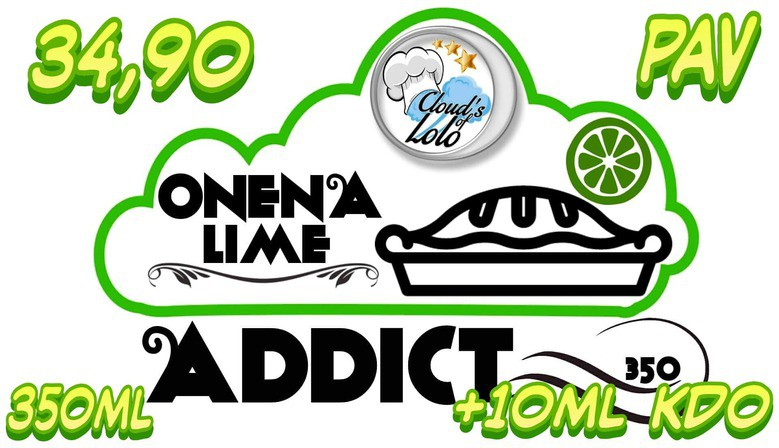 Onena Lime ADDICT 350ML a 34€90 !!!!