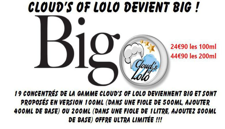 La Gamme Big by Cloud's of Lolo !